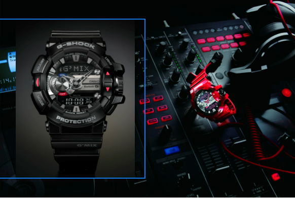 G-SHOCK G-Mix: Mixing past and future
