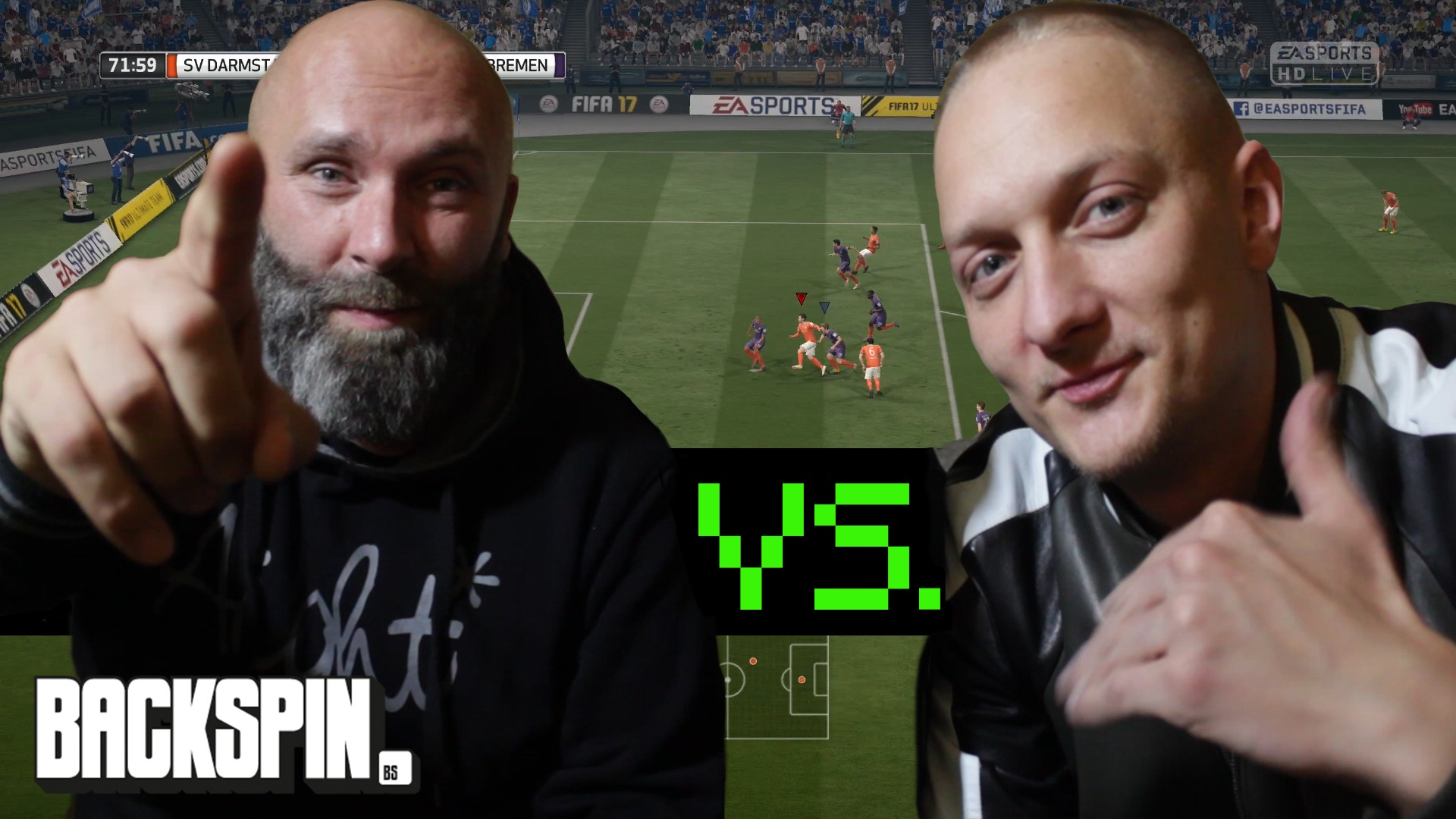 Olexesh, Fifa 17, BACKSPIN Play, Ayayay, 385ideal,