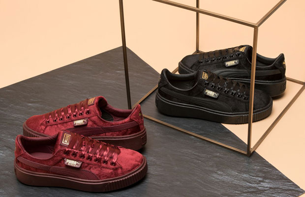 free delivery most reliable durable in use ONYGO x PUMA Basket Platform Velvet