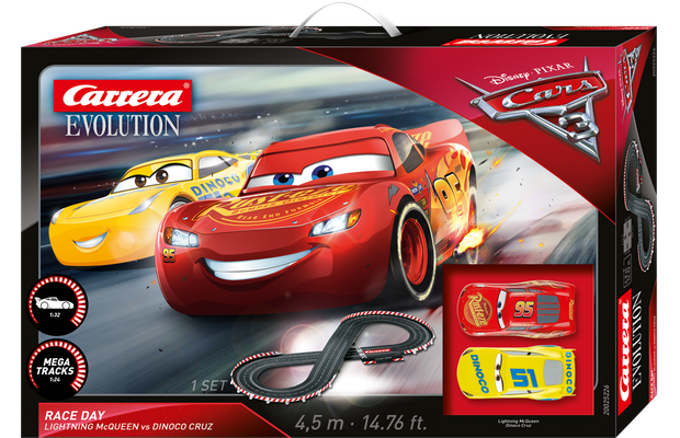 backspin adventskalender 13 gewinnt eine disney pixar cars 3 carrera bahn. Black Bedroom Furniture Sets. Home Design Ideas